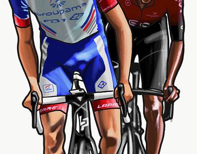 Illustrations Tour de France 2019