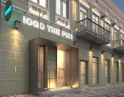 Exterior Pub by IAM Architecture Studio