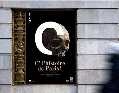"""Les trois """"C"""" - Histoire de Paris"""