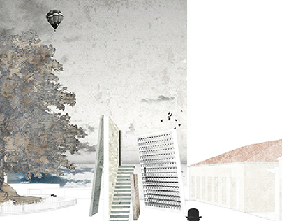 Competition 3rd prize. Memorial i Iso-Polifonise