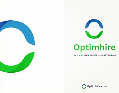 Optimhire Logo Designs