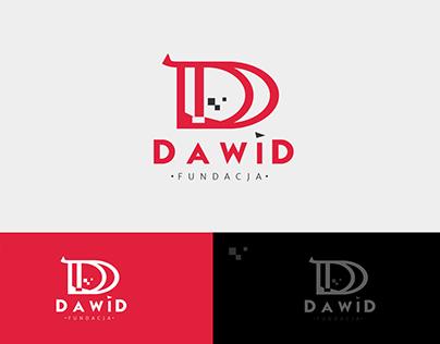 Logo dla fundacji DAWID