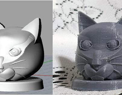 Self CAD and 3D Print