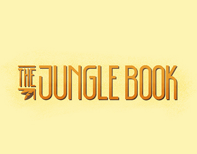 Illustrated Book Cover - The Jungle Book