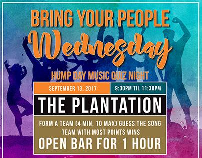 Plantation Event Posters