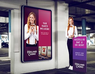 Holland Casino - Digital Screens & Print Items