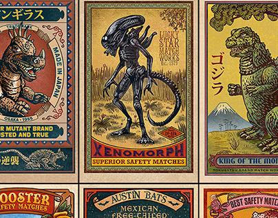 Matchbox Art Print Series