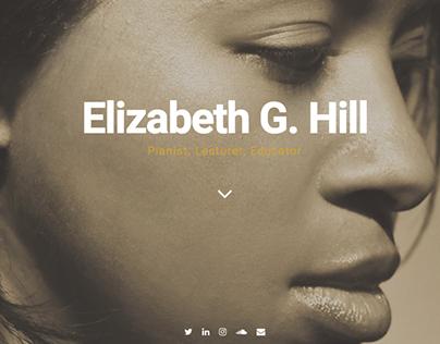 Elizabeth G. Hill: Branding and Website