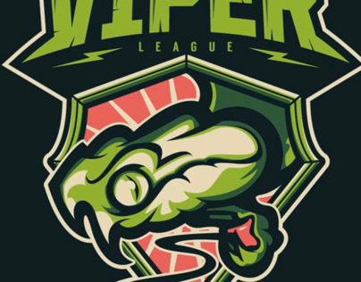 Viper eSports Badge (time-lapse)