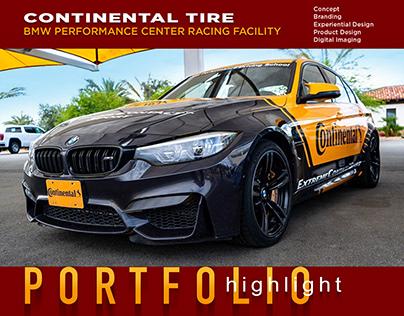 Continental Tire BMW Raceway | Branding Live Event