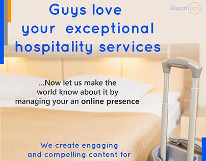 Hospitality Digital Marketing Promo