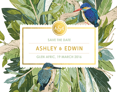 Wedding Stationery | Ashley & Edwin