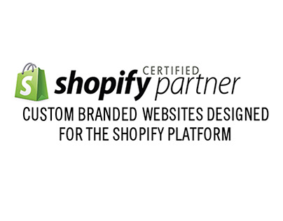 Certified Shopify Partner Branded Website Design