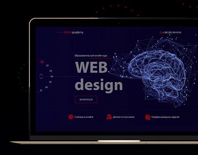 Web Design Courses   Landing Page