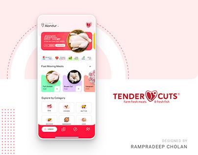 TENDERCUT | Food Mobile App | Rampradeep