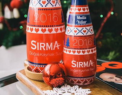 Sırma / New Year Bottle Design