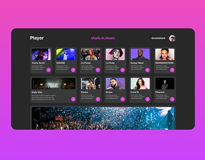 Music Player   shark.in.web