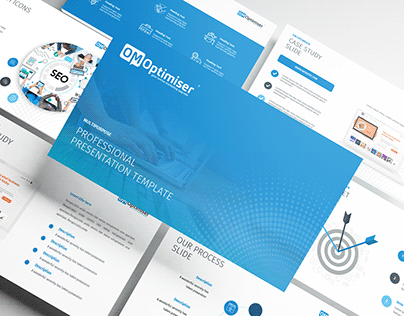 Powerpoint Presentation Template for SEO Agency