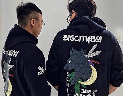 Áo hoodie đồng phục AIS – Senior Class 2021