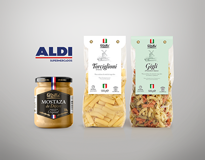 Packaging Design for Aldi Spain