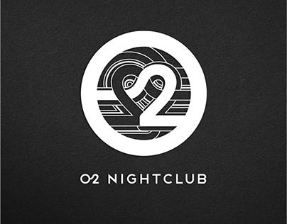 O2 Nightclub, Dubai. Brand Identity, Graphics