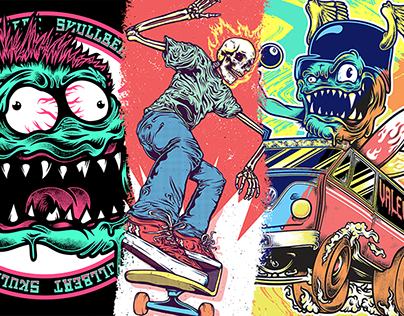 Monsters, Skate and Surf