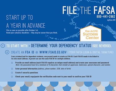 FAFSA Folder (Alaska) 2016-17