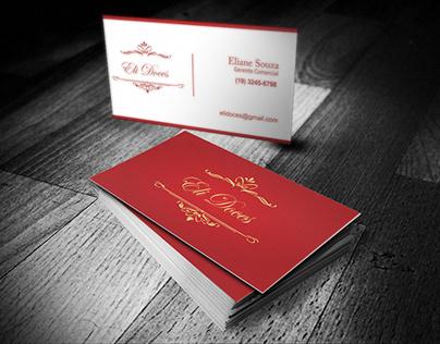 Cartão de visitas - Eli Doces