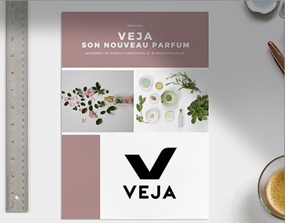 Lancement de produit Veja, événement RP (projet fictif)