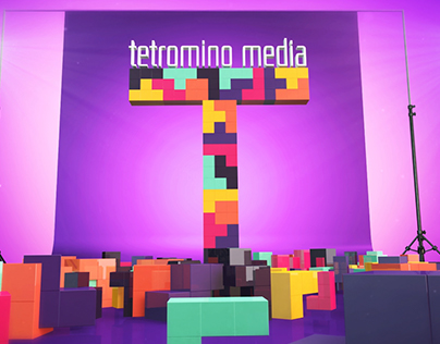 TETROMINO MEDIA LOGO ANIMATION