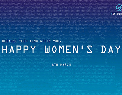Poster for Women's Day in a Tech evento JOTB