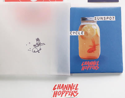 Channel Hoppers: Sunspot Cycle Album Design