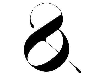 Playful Ampersand by Moshik Nadav Typography