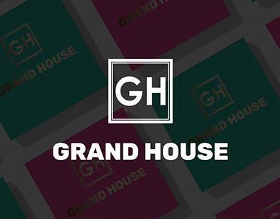 """Advertising design for magazine """"Grand house"""""""