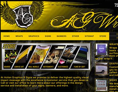 AG Wraps - Website