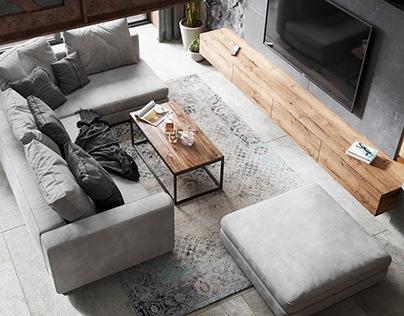 Loft style in interior design