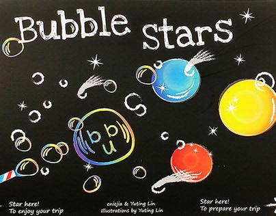 Children Picture Book- Bubble Stars