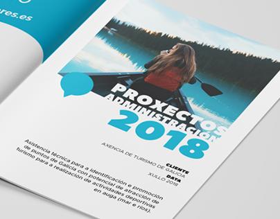 Tourism Dossier Design
