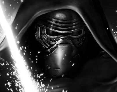 Kylo Ren Digital Illustration