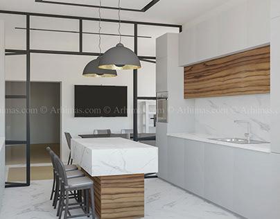 Дизайн интерьера жилой дом Одесса