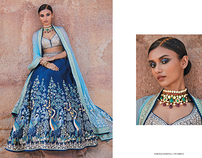 Global Desi for Anita Dongre-Kangana Ranaut-SS19 on Behance