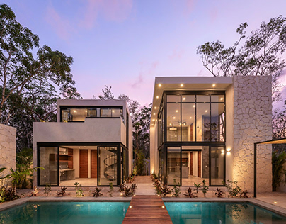 Kuxtal Condos in Tulum by Israel Pacheco / Houses Tulum