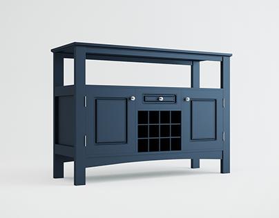 Jasper Storage Buffet | 3D Model