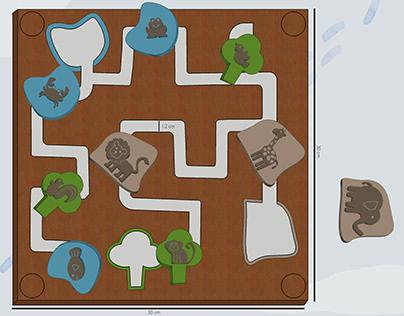 Safari Maze(3-5 year Kids Toy)