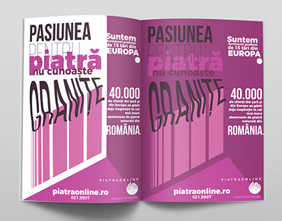 Piatra Online A4 Advert