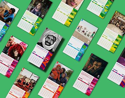 Oxfam Wall Calendar 2019
