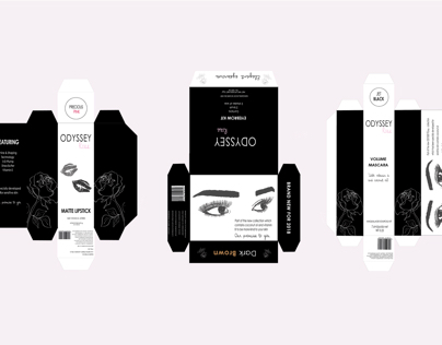 Odyssey Rose, Packaging and promotional design