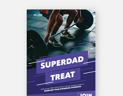 Anytime Fitness poster