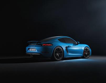 Porsche Cayman GTS - CGI & Retouching