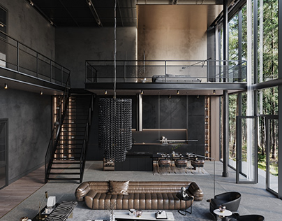 Loft In The Woods